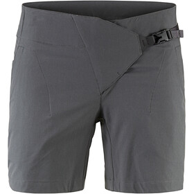 Klättermusen W's Vanadis Shorts Dark Grey